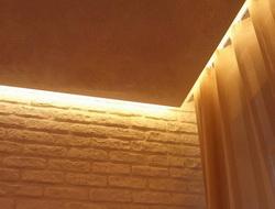Парящие потолки в гостиной