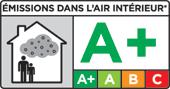 Сертификация А+ (Emissions dans l'air interieur)