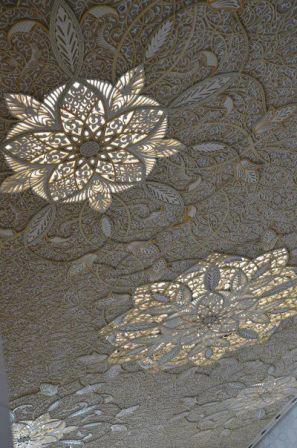 Кружевные потолки в музее исламского искусства