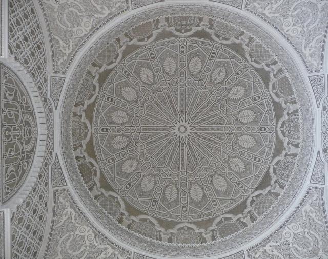 Ажурные потолки в музее искусства