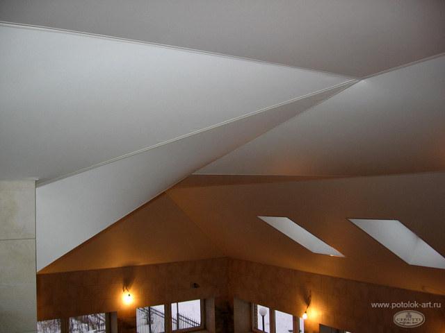 Примеры создания объемных потолков