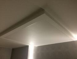 Потолок с накладкой этап 3