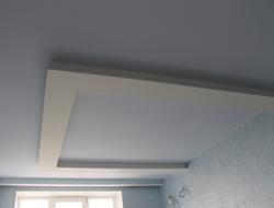 Многоярусный потолок с буквой п